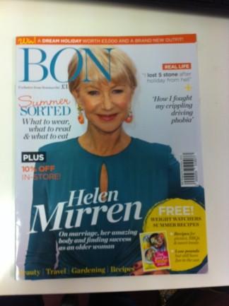 Pick up a copy of Bon Magazine